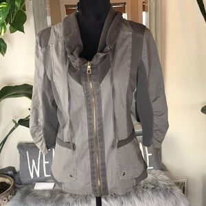 XCVI jacket lightweight olive